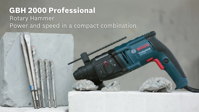 Gbh 2000 Professional Rotary Hammer With Sds Plus Bosch