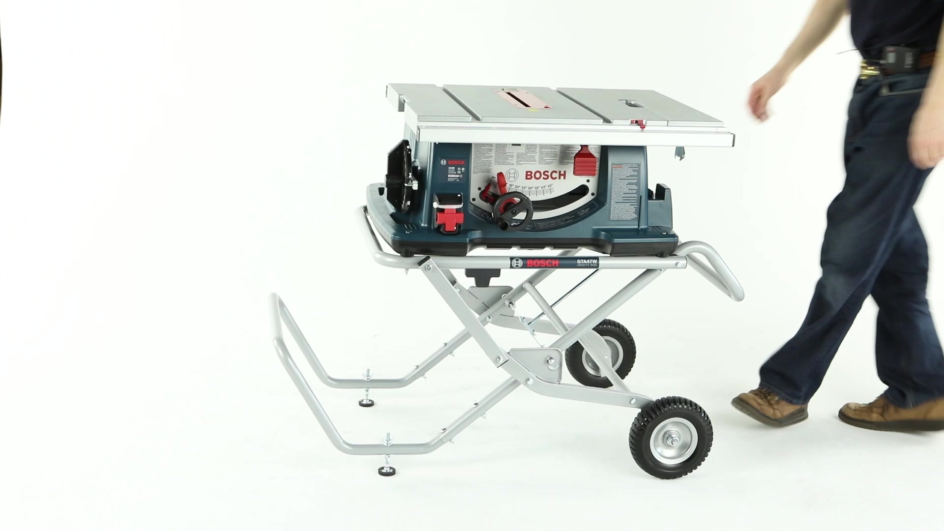 4100-10 | 10 In  Worksite Table Saw with Gravity-Rise